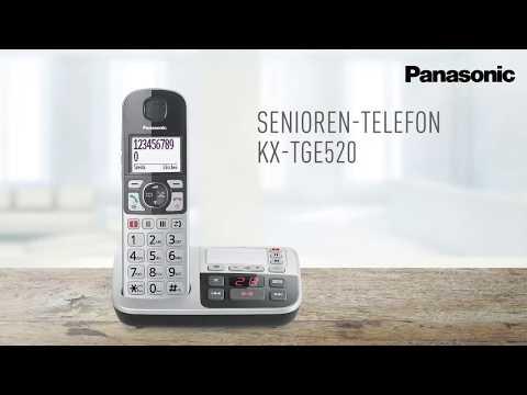 Panasonic Seniorentelefon KX-TGE520: Sicherheit in jedem Moment