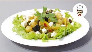 НОВЫЙ САЛАТ с молодым картофелем / Рецепты салатов