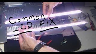 HOW TO FIX HP LCD, monitor turns off after 3 seconds (common repair)
