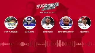 SPEAK FOR YOURSELF Audio Podcast (9.14.17) with Colin Cowherd, Jason Whitlock | SPEAK FOR YOURSELF