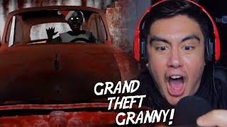 GRANNY WANTS REVENGE FOR STEALING HER CAR    Granny (New Ending + Nightmare Mode)