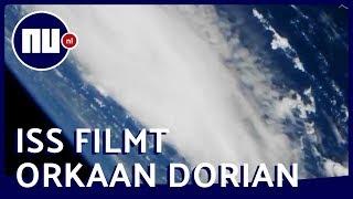 ISS filmt 'monsterorkaan' Dorian vanuit de ruimte   NU.nl