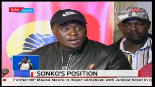 Senator Johnson Sakaja terms the chaos and misunderstandings in Jubilee show a sign of democracy