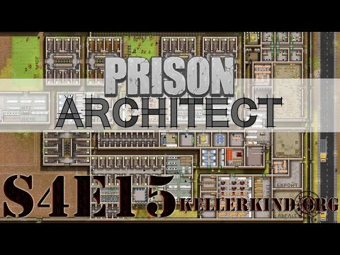Prison Architect [HD] #058 – Unruhige Gewässer ★ Let's Play Prison Architect