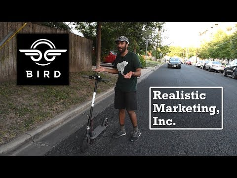 Bird Electric Scooters | Realistic Marketing Inc.