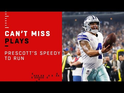 Dak Prescott Takes Off on Speedy TD Run!