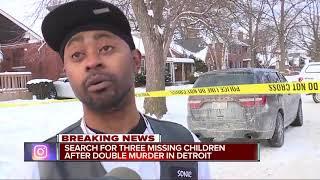 Kids missing after man, woman shot, killed inside home on Detroit's east side