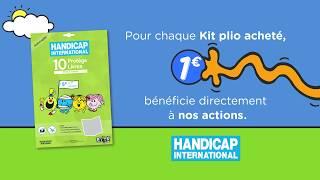 """PUB TV """"KIT PLIO"""" HANDICAP INTERNATIONAL"""