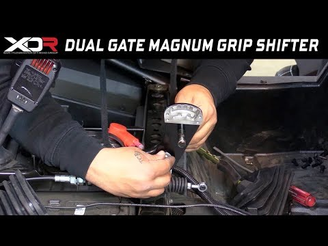 Trick New Dual Gate UTV Shifters for Polaris RZR XP and Can-Am Maverick X3