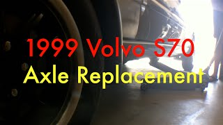 1999 Volvo S70 Driver Side Axle