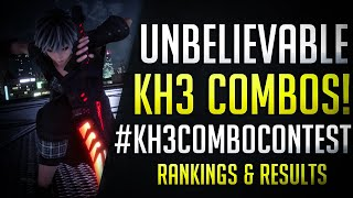 The YOZORA DEATH COMBO! Kingdom Hearts 3 Combo Contest Rankings and Winner - #KH3ComboContest