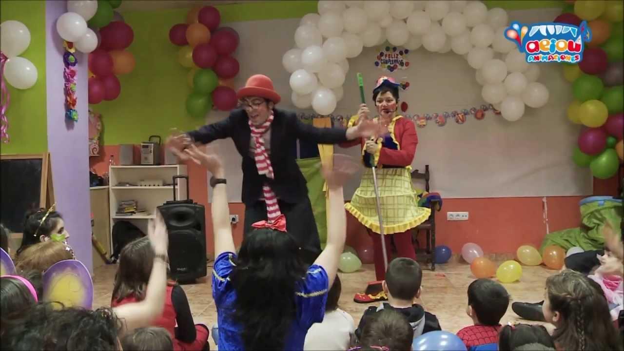 Animaciones infantiles Las Palmas. Cumpleaños Comuniones payasos magos