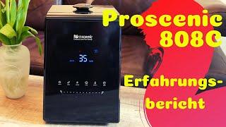 Proscenic 808C Luftbefeuchter - Erfahrungsbericht Review