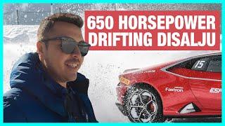4WD DRIFT DIATAS ES   Fastron Supercar Winter Driving Experience