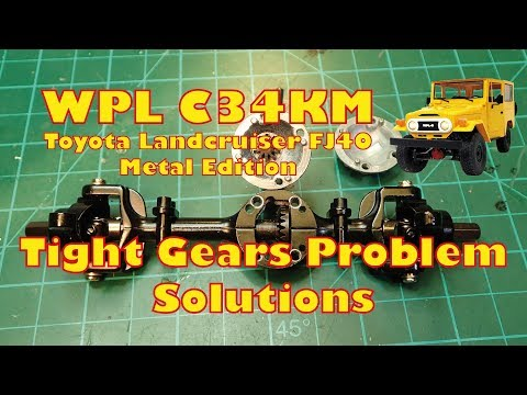 WPL C34KM - Solving Problems with Tight Gears