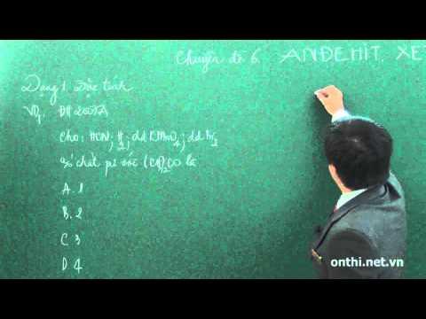 Bài 6-Andehit Xeton