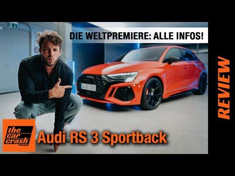 Audi RS 3 Sportback (2021) Die Weltpremiere: ALLE INFOS! ❤️ Review | Test | Sitzprobe | Sound |Preis