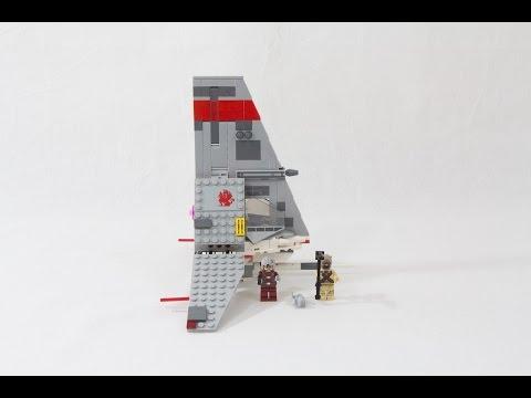 Vidéo LEGO Star Wars 75081 : T-16 Skyhopper