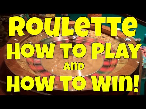 Roulette - How to Play and How to Win!
