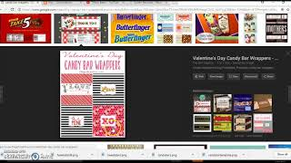 Candy Bar Wrapper Microsoft And Publisher, Easy Diy Tutorial (Jacqueline Londro)