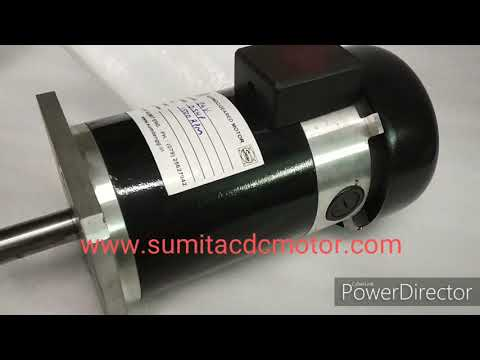PMDC Motor 500 W