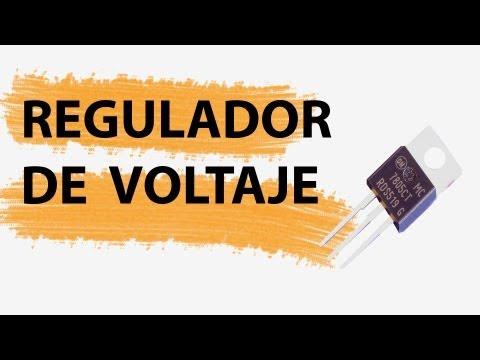 Regulador de Voltaje - Funcionamiento, y montaje de un circuito