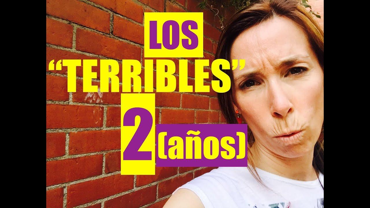 """Los """"terribles"""" 2 años"""