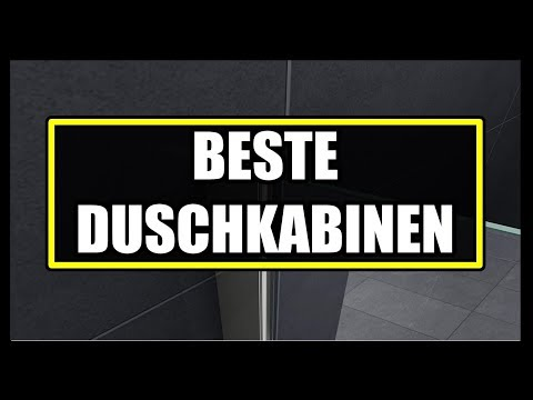 ► BESTE DUSCHKABINE DER WELT ★ Duschkabinen Vergleich - Duschkabine Falttür & Schiebetür Duschkabine