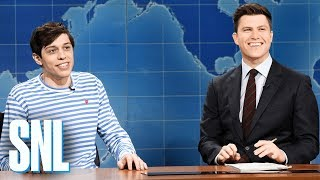 Weekend Update: Pete Davidson on Kevin Love - SNL