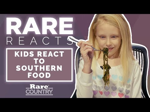 Kids React to Southern Food | Rare Country