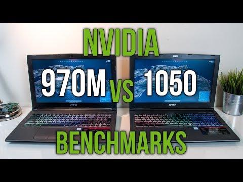970M vs 1050 - Laptop Graphics Comparison Benchmarks