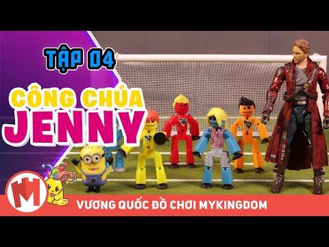 CÔNG CHÚA JENNY | Tập 04 - Phim Hoạt Hình THE-BOTCHELORETTE