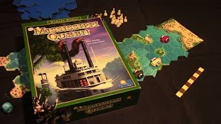 Jeremy Reviews It... - Mississippi Queen Board Game Review - Spiel des Jahres 1997