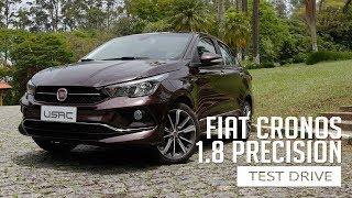 Fiat Cronos 1.8 Precision - Test Drive