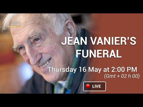 Jean Vanier's funeral mass