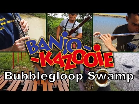 "Banjo Kazooie's ""Bubblegloop Swamp"" played on real instruments"