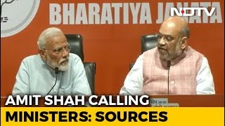 Who'll Be In Team Modi? Tense Wait As Amit Shah Makes Calls, Say Sources