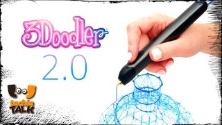 3D printing pen 3Doodler 2.0 gives drawing a whole new meaning
