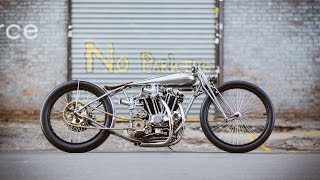 Photos And Podcast With Max Hazan, Custom Motorcycle Builder