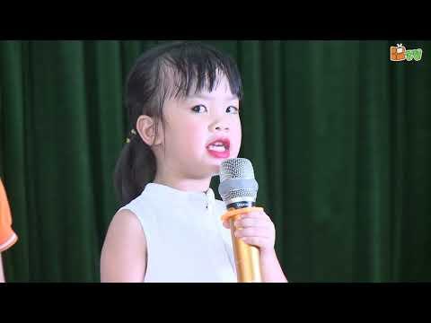 Bế giảng năm học 2018-2019 trường mầm non Thăng Long - Doremon 4 - Món quà tặng cô