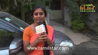 Latha Rao at Kadikhara Manithargal Movie Shooting Spot