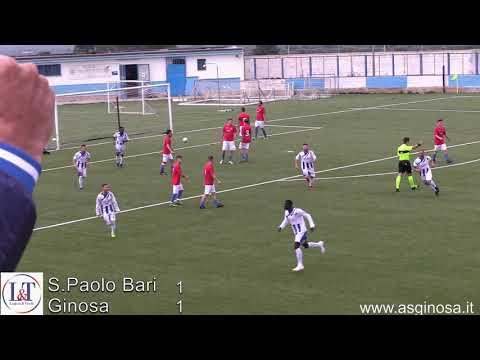 Preview video SAN PAOLO BARI-GINOSA 1-1 Solito Ginosa formato trasferta. Primo tempo sprint con vantaggio di Musa. Secondo tempo sottotono con il San Paolo che rischia di ribaltare il risultato.