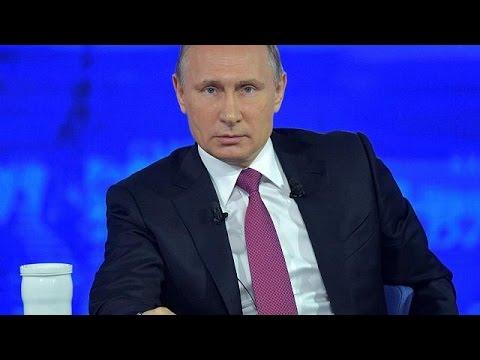 Για όλους και για όλα μίλησε ο Βλαντιμίρ Πούτιν