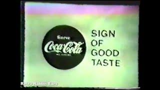 1950's Coca-Cola Commercials Compilation Black & White Coke Commercials