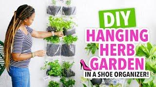 DIY Indoor Herb Garden In A Shoe Organizer! - HGTV Handmade