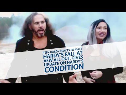 Reby Hardy Reacts To Matt Hardy's Fall At AEW All Out, Gives Update On Hardy's Condition