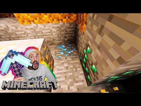 Minecraft WÜRFEL 🎲1: DIAS DIREKT BEIM SPAWN! ÜBERLEBEN IN BUNTEN GLASWÜRFELN Let's Play mit Kaan
