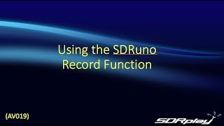 SDRplay Software Defined Radio Receiver Channel videos