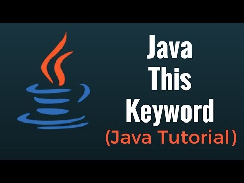 Java This Keyword – Java Programming Tutorial