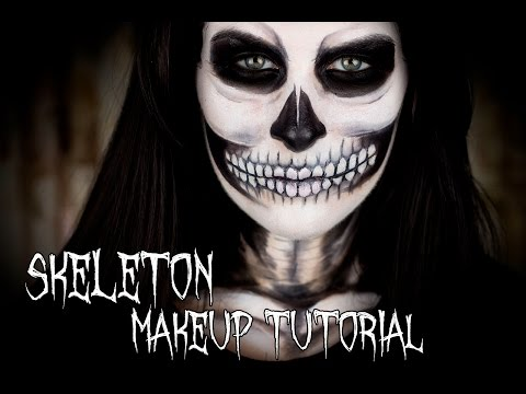 [HALLOWEEN] Become A Skeleton With This Easy Tutorial! - Filosophie!